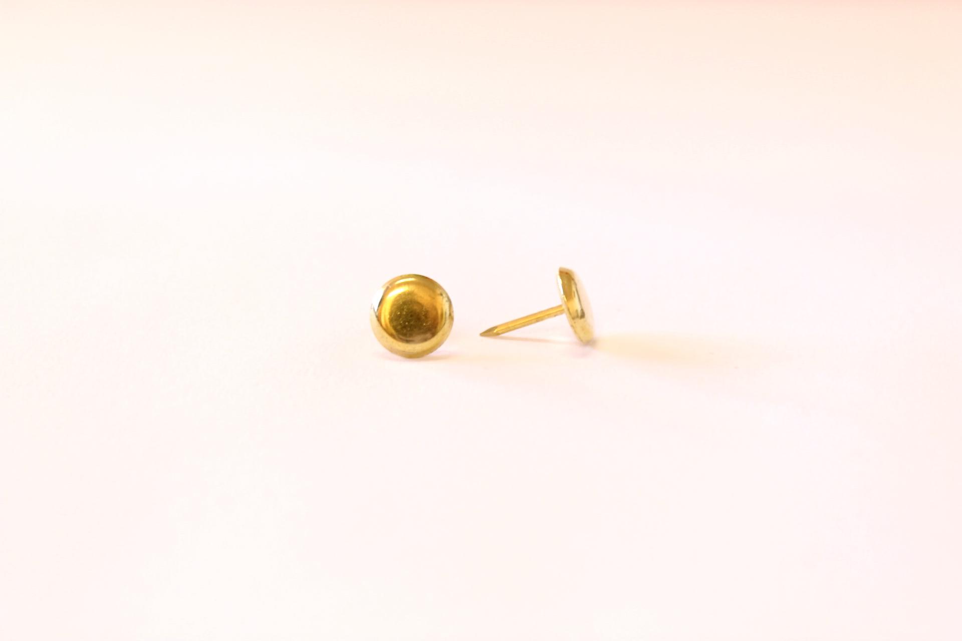 265 brass studs