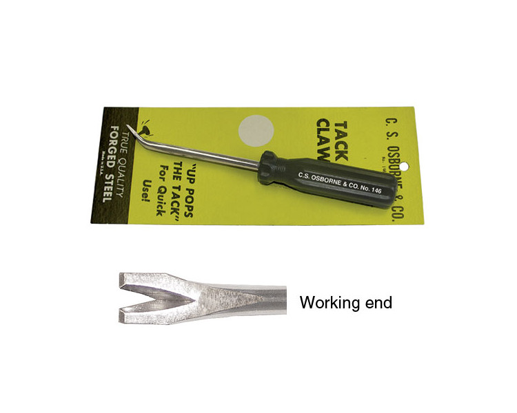 Carded Tack Claw Upholstery Tool