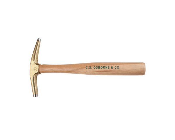 Bronze Magnetic Upholstery Hammer, with a nylon tip